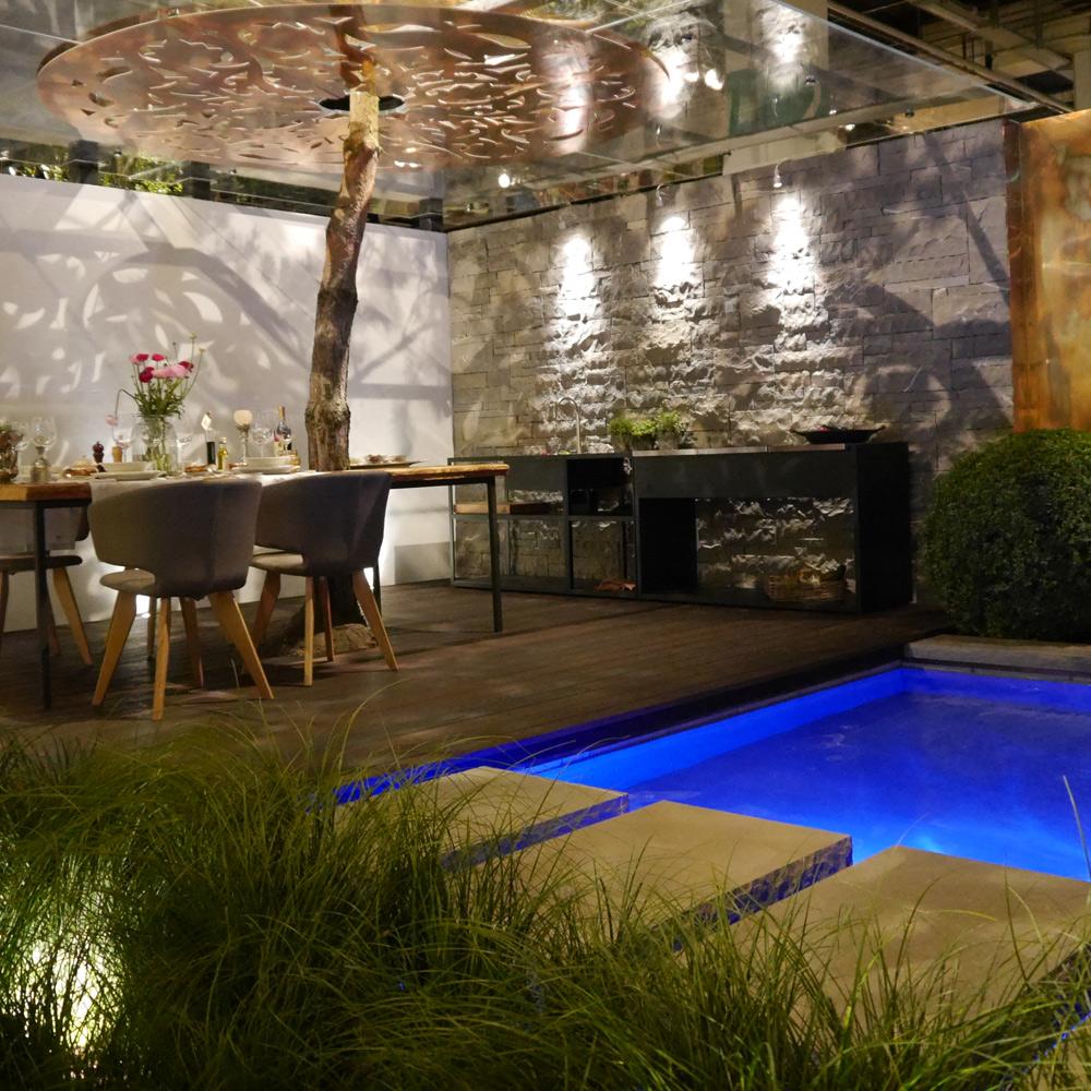 Moderne Gartenteiche 13