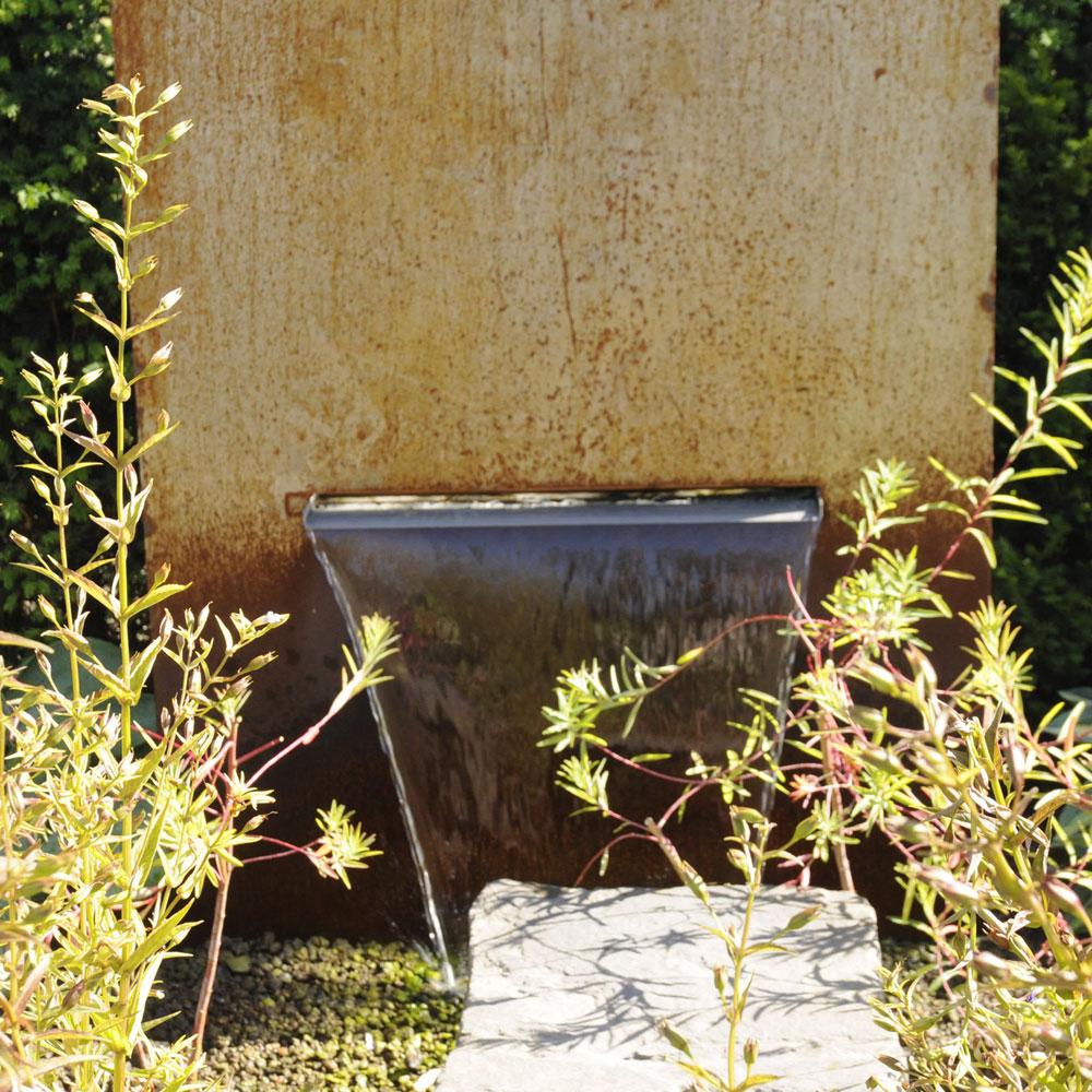 Corten Brunnen