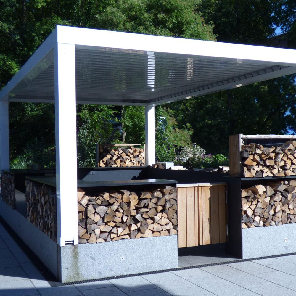 Mehr als nur Grillen: Die Outdoor-Küche 5