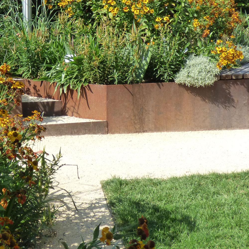 Gartengestaltung modern und pflegeleicht und naturnah 17