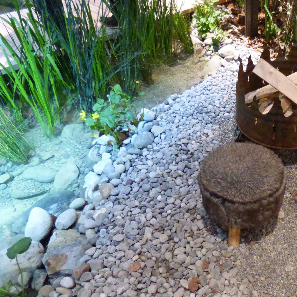 Faszinierende Gartengestaltung mit Steinen 7
